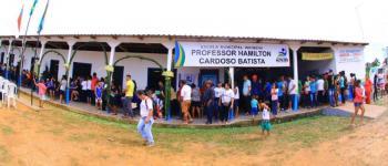 Prefeitura de Autazes inicia série de inaugurações de escolas na zona rural