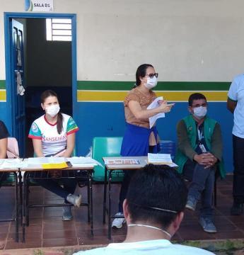 Gerência de Endemias realiza desinfectação de ruas e residências na Comunidade Novo Mastro