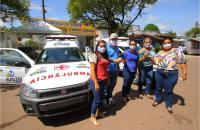 Centros de Referência ao COVID-19 em Autazes recebem duas novas ambulâncias